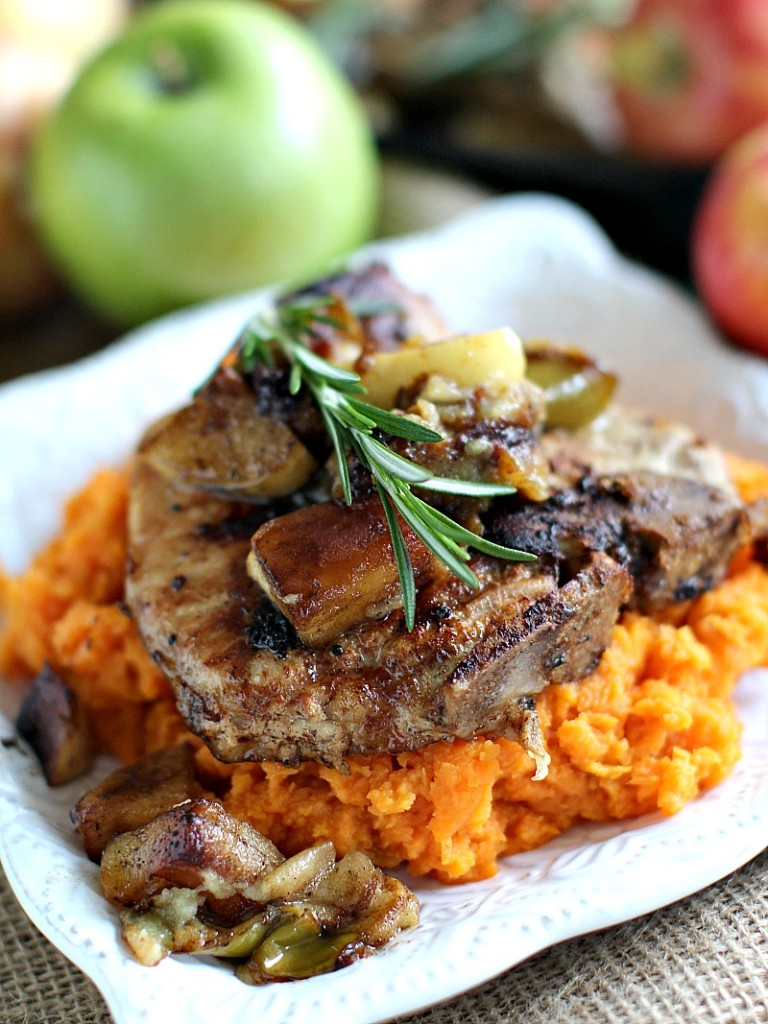 Apple Cinnamon Pork Chops – Peas and Peonies