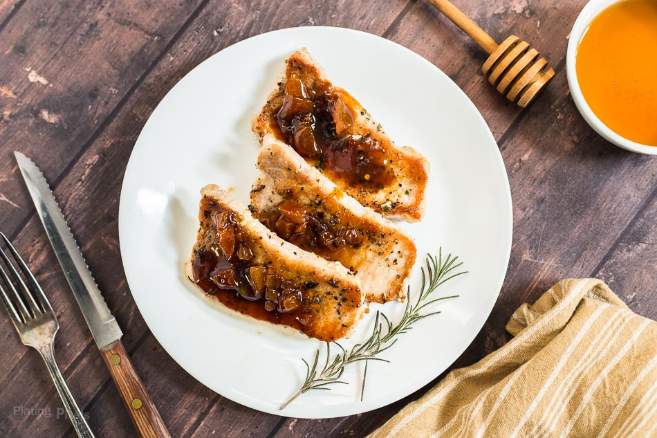 Honey Apricot Pork Chops – Plating Pixels