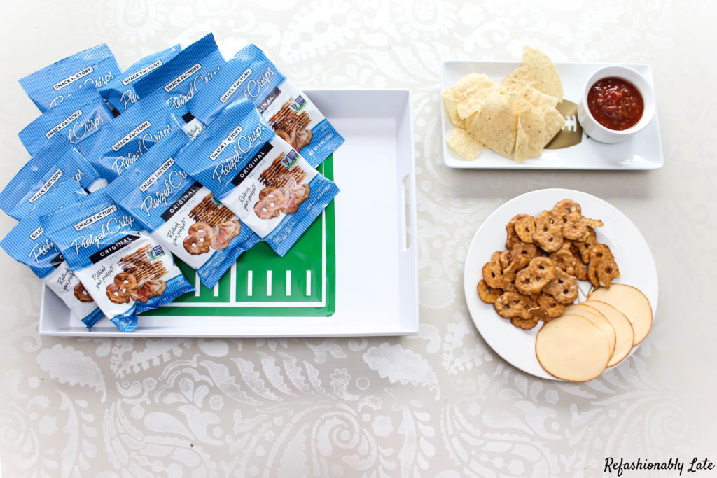 DIY Serving Trays for the Big Game