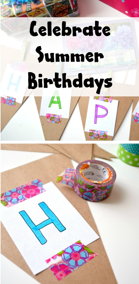 Celebrate Summer Birthdays – One Artsy Mama