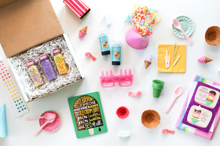 Ice Cream Party in a Box – Salty Canary