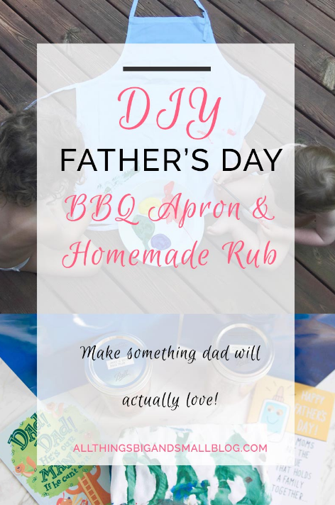 DIY Father's Day Gift – All Things Big and Small