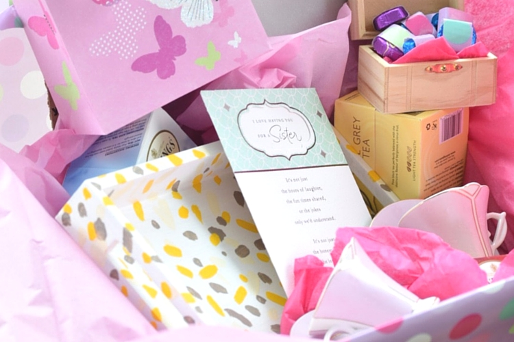 DIY Mother's Day Tea Party in A Box Gift