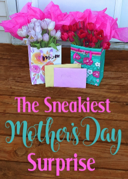 The Sneakiest Mother's Day Surprise Ever