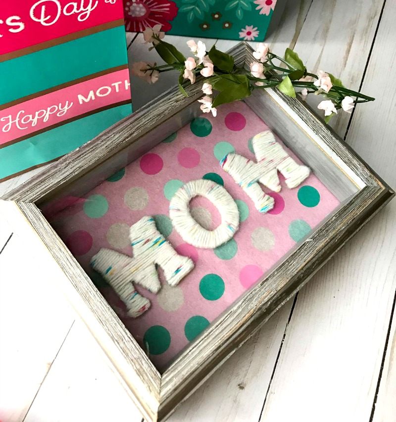 DIY Yarn Covered Letters For Mother's Day – Stylish Cravings