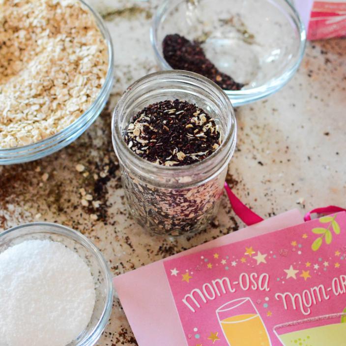 Hibiscus Oatmeal Bath Tea | Our Holly Days