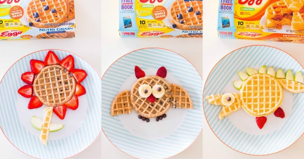 Three Back-To-School Breakfast Ideas With Eggo Waffles