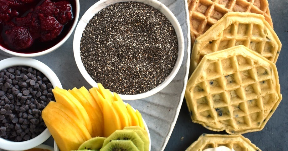Make Your Own Waffle Bar | The Nutritionist Reviews