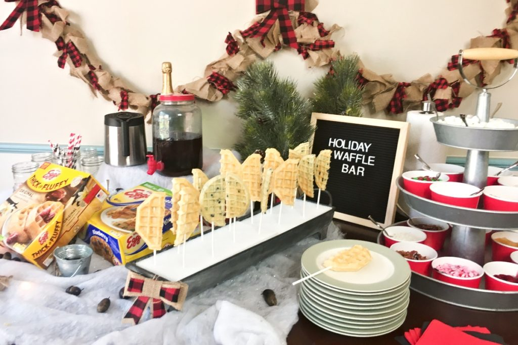 How to Set Up a Holiday Waffle Bar – Nerdy Mamma
