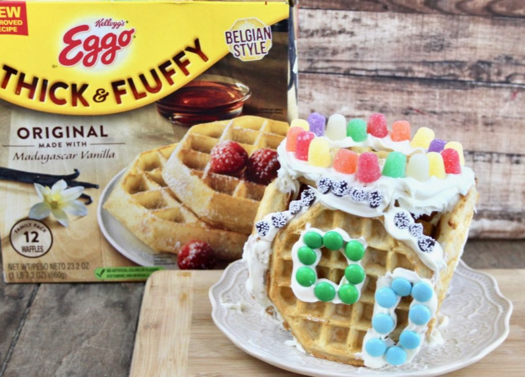 Holiday Fun with Kellogg's® Eggo Thick & Fluffy Original Waffles – Ever After in the Woods