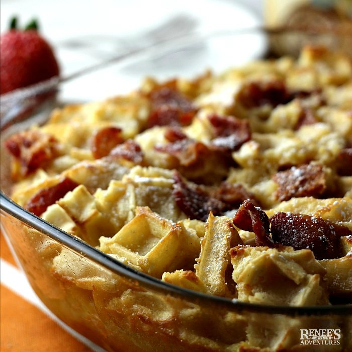 Breakfast Casserole with Bacon | Renee's Kitchen Adventures