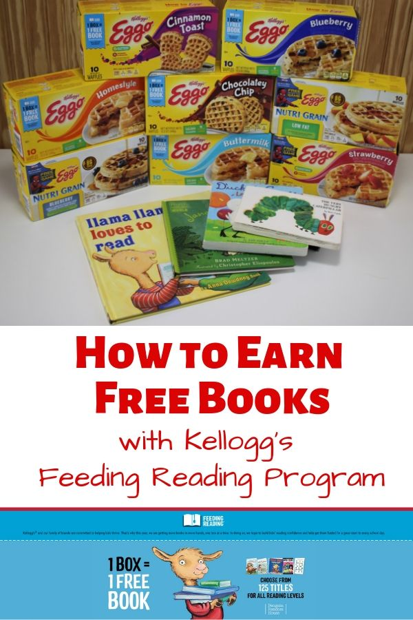 Earn Free Books with Kellogg's Feeding Reading Program