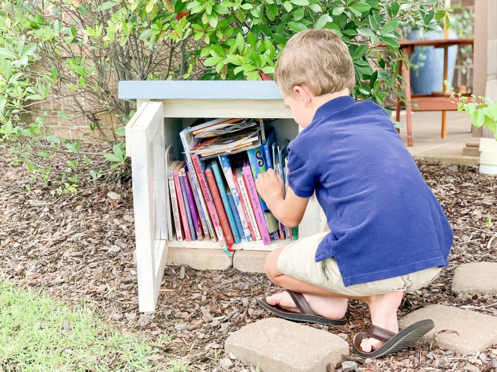 How to Start a Neighborhood Little Library – Grace, Giggles and Naptime