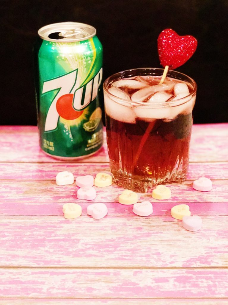 7UP Love Potion Cocktail – also known as mama