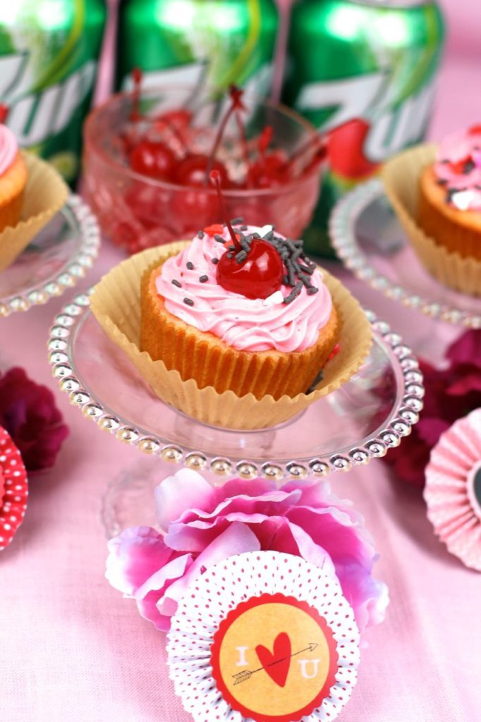 Shirley Temple Cupcakes for Valentine's Day – Ever After in the Woods