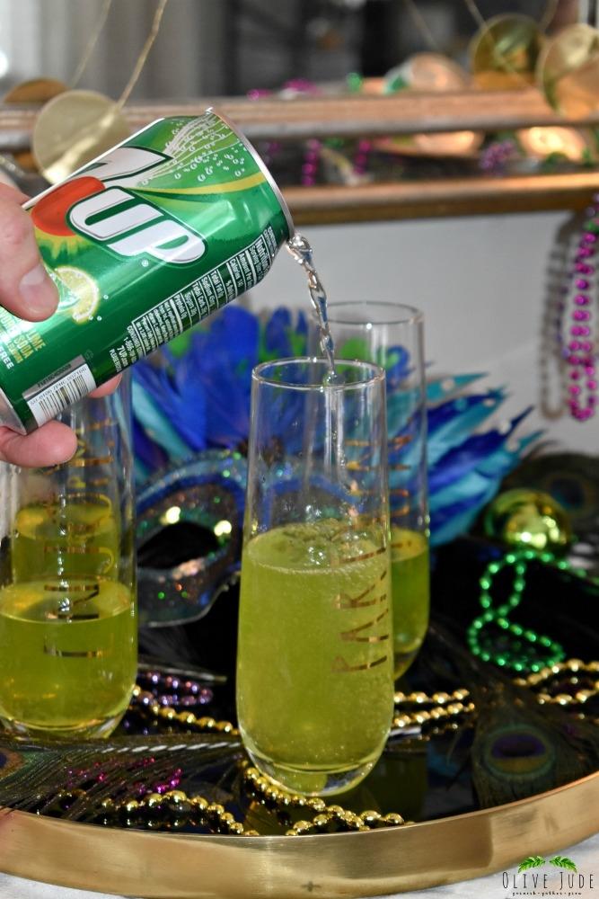 Cucumber Hurricane Twist: A Mardi Gras Cocktail | Olive Jude 21+
