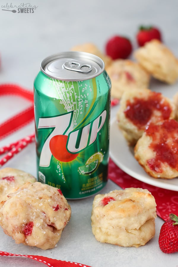 Strawberry Biscuits – Celebrating Sweets