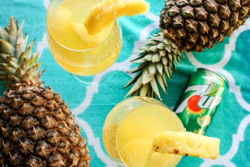 Tropical Piña White Sangria — Five-Ingredient, Beach-Ready Cocktail
