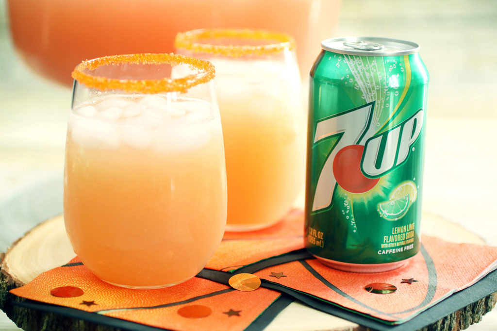 The Courtside Punch, a Delicious & Refreshing Drink for the Big Game